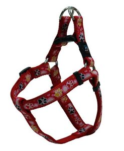 Red Paws Nylon Dog Harness