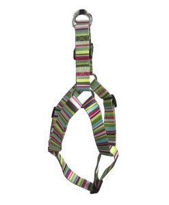 Cool Stripe Nylon Dog Harness