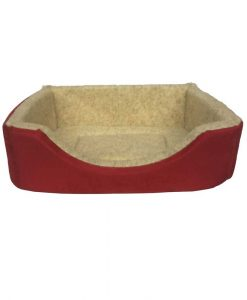 Suedette Square Dog Bed