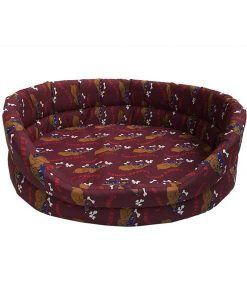Lazy Bones Oval Dog Bed