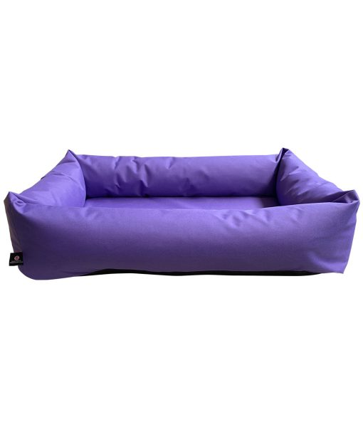 Purple Waterproof Dog Bed