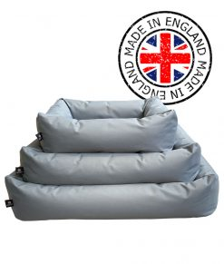 Grey Waterproof Dog Beds