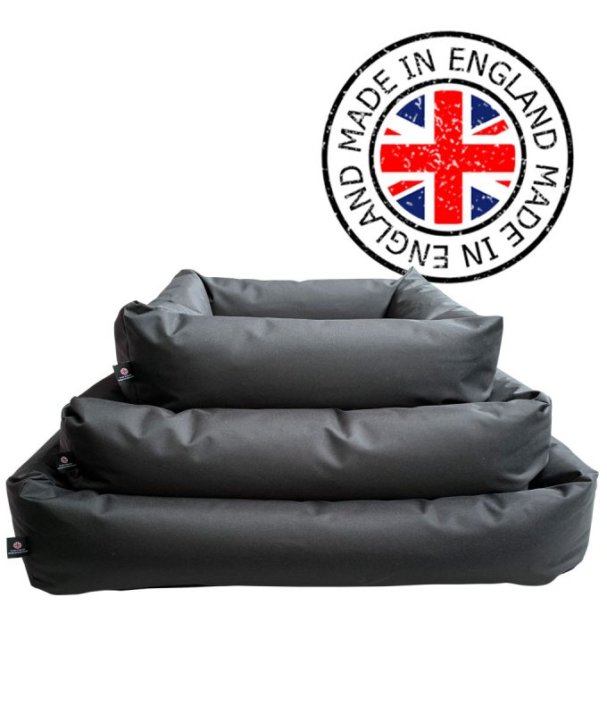 Black Waterproof Dog Beds