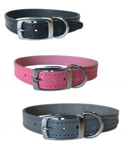 "3/4"" Leather Collars"