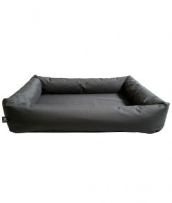 Black Waterproof Dog Bed