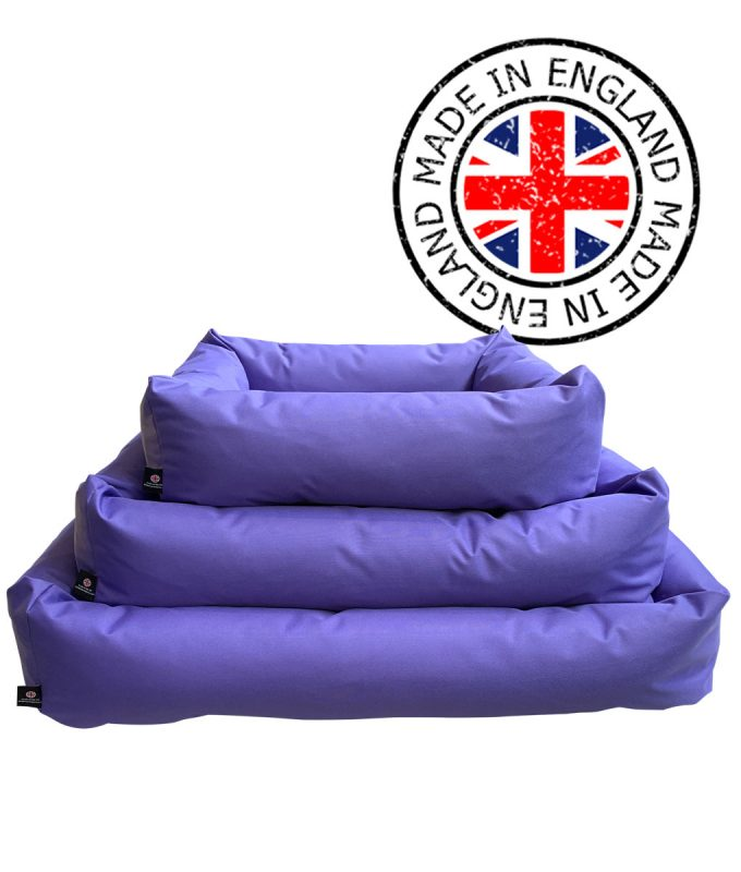 Purple Waterproof Dog Beds
